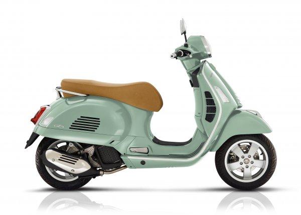 Vespa GTS - Verde Relax