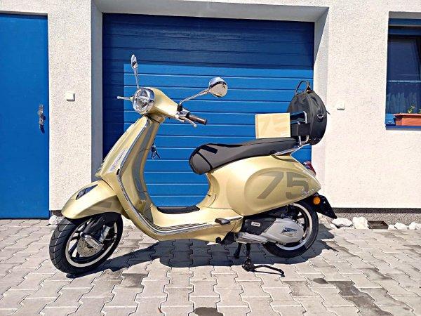 Primavera 125ie ABS bílá